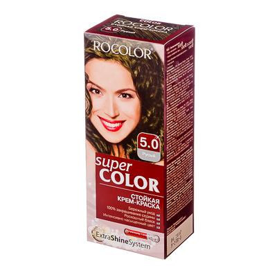 330-067 Роколор Краска для волос 5.0 русый, 50/50/15мл (р)