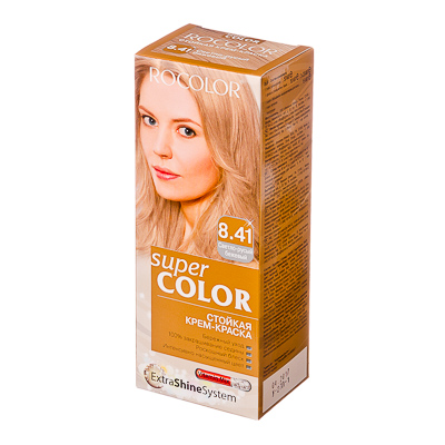 330-070 Роколор Краска для волос 8.41 светло-русый бежевый, 50/50/15мл (р)