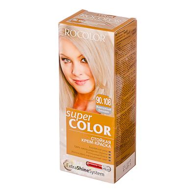 330-072 Роколор Краска для волос 90.108 жемчужный блондин, 50/50/15мл (р)