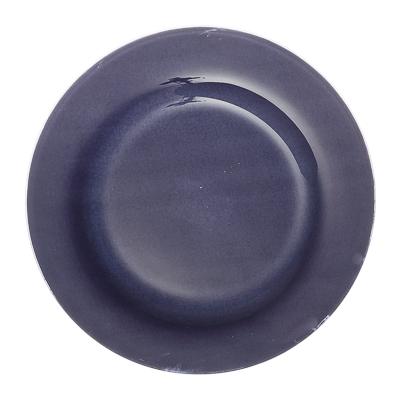 830-268 VETTA Силви Тарелка подстановочная стекло 25,4cм, S3010