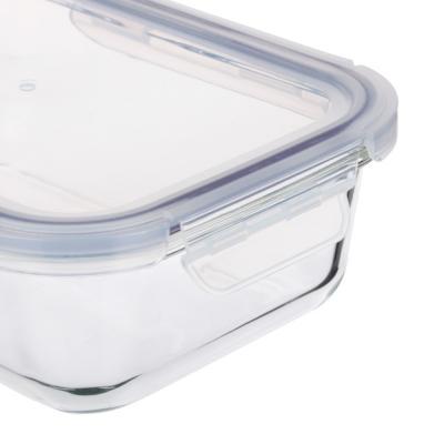 845-112 Контейнер для продуктов 1 л VETTA, на защелках, жаропрочное стекло
