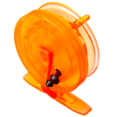 126-001 AZOR Катушка инерционная для зимней рыбалки, пластик, противоударная