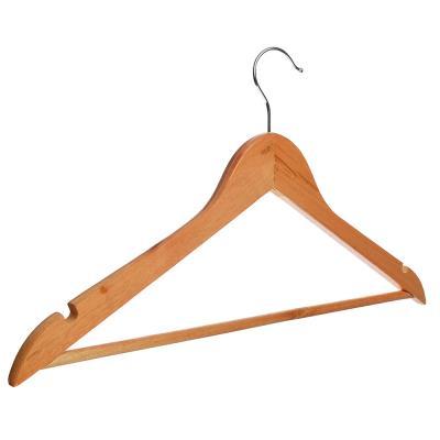 455-039 Вешалка для одежды деревянная 45см, ПРОМО