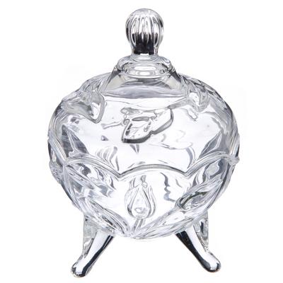 """877-434 Конфетница стеклянная, стекло, 10х14 см, """"Селия"""""""