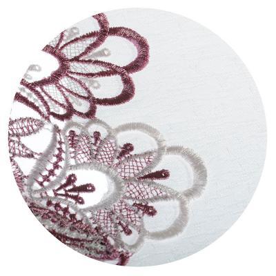 436-096 Скатерть на стол с вышивкой, полиэстер, 130х180см, VETTA
