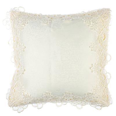 482-516 Декоративная наволочка для подушки кружевная VETTA 40х40см