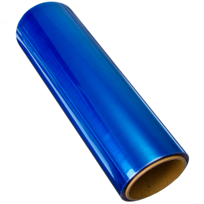 718-047 NEW GALAXY Пленка защитная для фар и фонарей (броня), глянцевая 30см x 10м, голубая