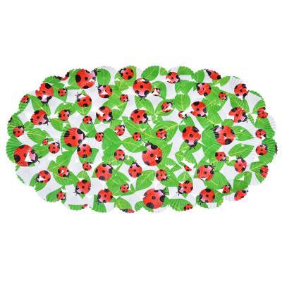 """403-063 Коврик для ванны противоскользящий ПВХ, 35х67см, VETTA """"Ракушечник"""""""