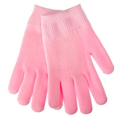 318-016 SPA-перчатки гелевые косметические увлажняющие, розовые