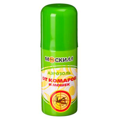 159-116 Москилл Аэрозоль от комаров и мошек, 100мл (1299)