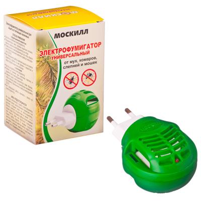 159-121 Москилл Электрофумигатор универс.для пластин и жидкостей (1060)