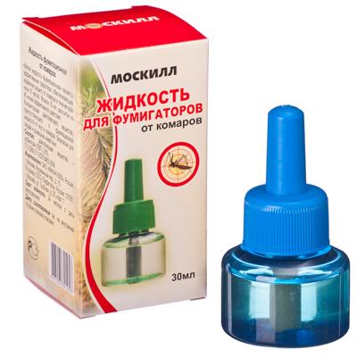 159-122 Москилл Жидкость для фумигаторов от комаров, 30мл (1053)
