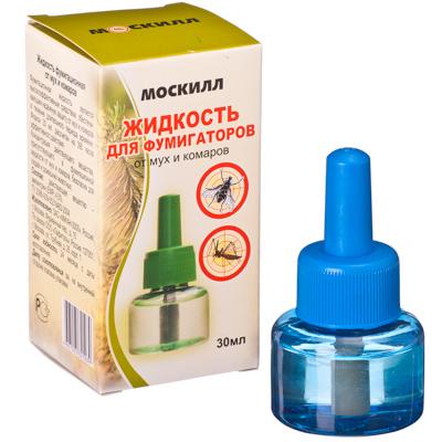 159-123 Москилл Жидкость для фумигаторов от мух и комаров, 30мл (1039)