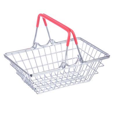 "416-093 Корзина для мелочей, металл, 14,5х10х7см, ""Супермаркет"""