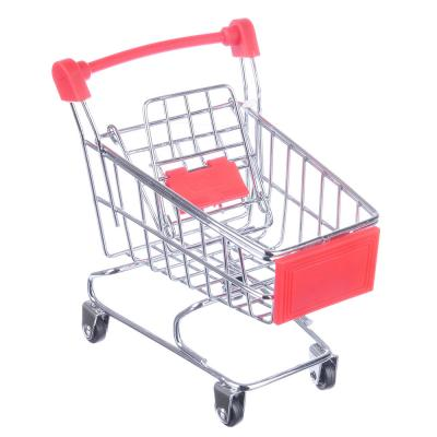 "416-094 Тележка для мелочей, металл, 12х11х8см, ""Супермаркет мини"""