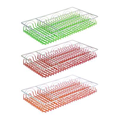 485-065 Лоток для столовых приборов, металл, 36х20х4,5см