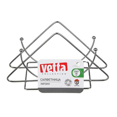 844-055 Салфетница металлическая VETTA, 13х7х6 см, 3 дизайна