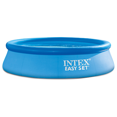 109-041 Бассейн надувной, 244х76 см, синий, INTEX Easy Set, 28110, 810-194