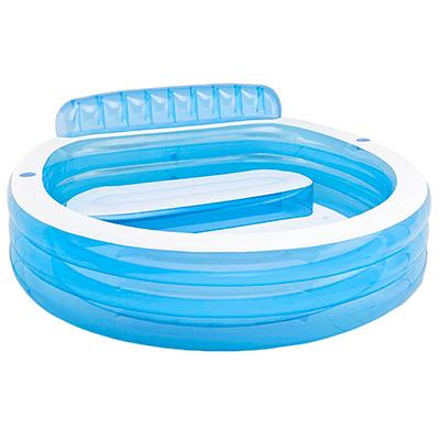 109-043 Бассейн надувной INTEX Swim centre 224x216x76 см, 590 л, 57190