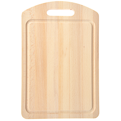 851-138 Доска разделочная деревянная, 30х20x1,2 см, бук