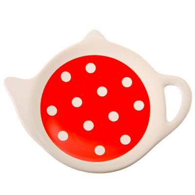 824-582 Горошек Подставка для чайных пакетиков, керамика, Дизайн GC