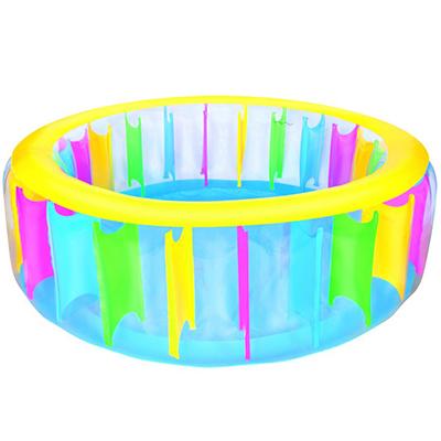 107-091 BESTWAY Бассейн надувной круглый 183x61см с перегородками Multi-Colored (51038В) арт.810-105