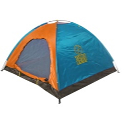 122-029 ТУРИСТ МАСТЕР Палатка туристическая 3х-местная 200х180х135см 1 слой TFZP-010 (о-г) арт.805-011