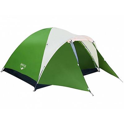 107-100 BESTWAY Палатка кемпинговая Montana 4-местная, (100+210)х240х130см, 68041