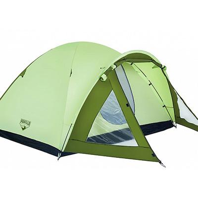 107-101 BESTWAY Палатка кемпинговая Rock Mount 4-местная, (100+210)х240х130см, 68014