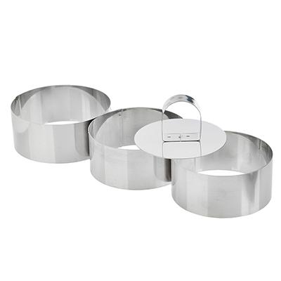 865-019 VETTA Набор форм для приготовления салатов\десертов 4пр, 9х4см 08A4001