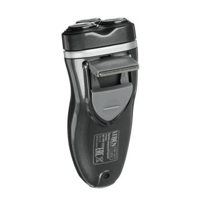 489-039 LEBEN Бритва аккумуляторная роторная 3Вт с триммером для усов, 3 бритвенные головки, IW-916