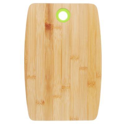 851-143 Доска разделочная деревянная VETTA, 30х20х1 см, бамбук/силикон