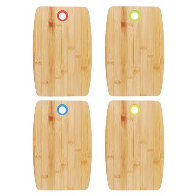 851-143 Доска разделочная, бамбук, силикон, 30х20х1см, VETTA