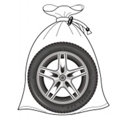 ЕРМАК Набор мешков для хранения шин 4шт, до R22, плотный спандбонд, на завязках, 100х100см