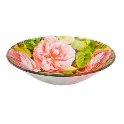 830-328 VETTA Розы Салатник стекло 152мм, S302006, Дизайн GC