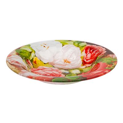 830-333 VETTA Розы Тарелка суповая стекло 200мм, S3030