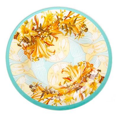 830-375 VETTA Лилии Тарелка суповая стекло 200мм, S3030, Дизайн GC