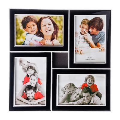 520-350 Фоторамка на 4 фотографии, пластик, 31х31см, арт.17-01