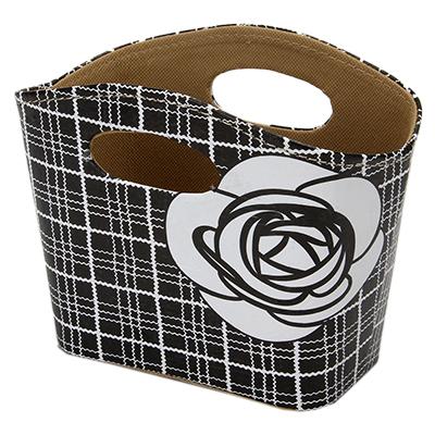 """416-112 Сумка-подставка для мелочей, ПВХ, искусств.кожа, 20x11x15см, """"Camellia"""""""