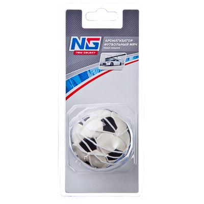 """794-193 Автомобильный ароматизатор, аромат новая машина, """"Футбольный мяч"""" NEW GALAXY"""