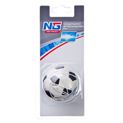 """794-194 Автомобильный ароматизатор, аромат океан, """"Футбольный мяч"""" NEW GALAXY"""