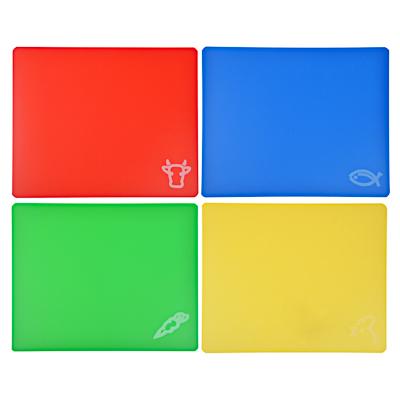 852-097 Набор разделочных досок гибких 4 шт, пластик, 30х27 см