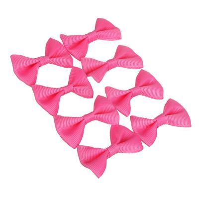 308-170 Набор бантов для декора 10шт, 100% полиэстер, 5 цветов, #SW2015-4