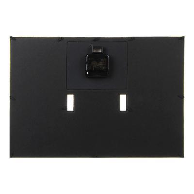581-525 Часы настенные с фоторамкой, 42х29см, плавный ход, 1хАА, пластик, стекло, цвет белый