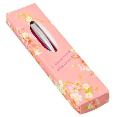 """525-091 Шариковая ручка подарочная, металл, 12,5 см, 30 дизайнов """"Женские имена"""""""