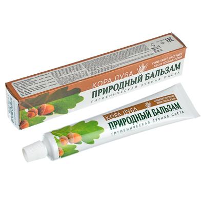 981-003 Зубная паста Природный бальзам Кора дуба, к/у 100гр, 8008