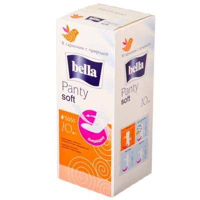 939-002 Прокладки ежедневные Bella Panty Soft 20шт, арт.20-081