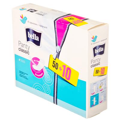 939-004 Прокладки ежедневные Bella Panty Classic 60шт, арт.60-053