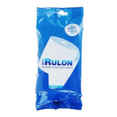 914-003 Mon Rulon Туалетная бумага влажная 80шт