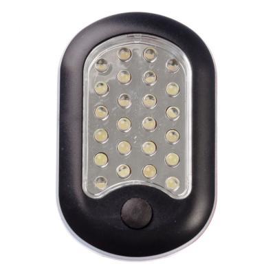 198-045 ЧИНГИСХАН Фонарь подвесной 24+3 LED, 3хААА, пластик, 9,5х6,5х3,2см